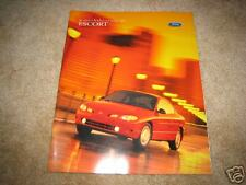 1998 Ford Escort ZX2 SE wagon sales brochure dealer car auto literature