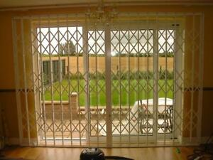 SECURITY GRILLES , RETRACTABLE GRILLS , SECURITY GRILLE