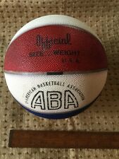 Rare Vintage ABA Basketball Signed By Rick Barry New York Nets
