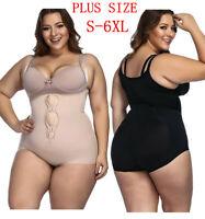 558253daef Hot Plus Size Women Spanx Full Body Shaper Bodysuit Waist Trainer Cincher  S-6XL