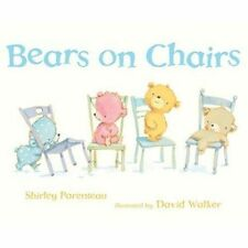 Preschool Bedtime Story Book - Bear Stories - BEARS ON CHAIRS - NEW