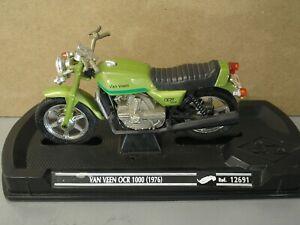 Van Veen OCR 1000 1976 Vintage Rotary Motorcycle 1:18th scale Rare model Bike