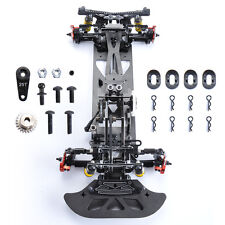 Alloy&Carbon 4WD Drift Racing Model Frame Chassis G4 For Electric RC 1/10 Car