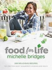 Food for Life by Michelle Bridges Paperback Book Free Shipping! 2016