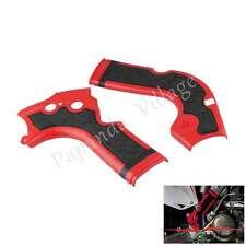 Motorcycle Motorbike X-Grip X Bike Frame Guard For Honda CRF 450 R 2013-2016 Red