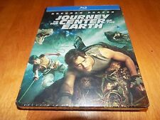 JOURNEY TO THE CENTER OF THE EARTH Brendan Fraser BLU-RAY STEELBOOK Case NEW
