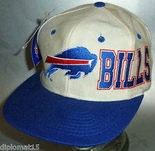 APEX ONE Vintage Snapback Cap NFL Buffalo Bills 80s NOS NEU