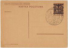 KARTKA POCZTOWA OCCUPAZIONE POLONIA WW2 1940 KRACAU 12 GENERAL GOUVERNEMENT