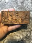 Vintage Winchester Tools Printing Block Rare Letterpress Tool Wrench Car Early