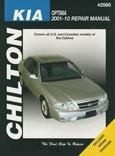 Chilton Kia Optima Automotive Repair Manual, 2011-2010 repair manual
