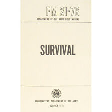 "Army U.S. Field Manual ""SURVIVAL"" FM 21-76 October 1970 Pages 285 New"