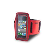 PORTACELLULARE AL BRACCIO ARMBAND SPORT CASE APPLE IPHONE 3G 3GS 4 4G 4S ROSSO