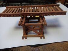 Scratchbuilt model railroad trestle  #766  HO
