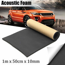 Car Adhesive Sound Proofing Deadening Insulation 10mm Foam Closed Cell 100X50cm