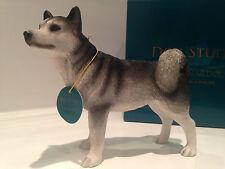 Siberian Husky Ornament Dog Gift Figure Figurine