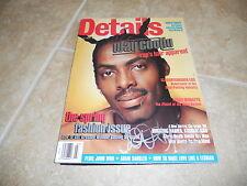 Coolio Rap Hip Hop Signed Autographed 1996 Details Magazine PSA Guaranteed