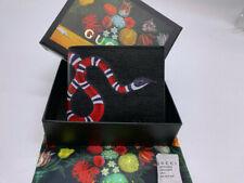 Authentic Men's black snake wallet  1b