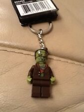 Lego Minifig Keychain / Keyring - Monster Fighters Frankenstein - ID 850453 NEW