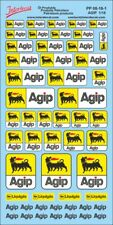 Petroleum products 8 Agip sponsors Decal 1/18 (200x110 mm) PP08-18-1