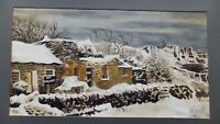 South Wales original  watercolour painting signed Alan Devis