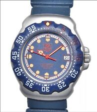 TAG HEUER F1 formula 1 classic, professional 200m, middle size diver,BLUE