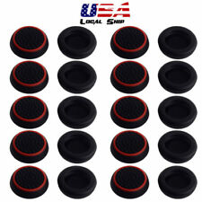 20 Pcs Black Thumbsticks Grips Cap Cover For PS4 PS3 Xbox 360 Controller USA