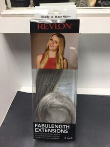 """REVLON FABULENGTH 18"""" EXTENSIONS, Invisible Crown-wire Extensions Halo, Grey"""