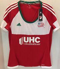 9b5a80a0a MLS New England Revolution Womens Replica Short Sleeve Team Jersey SZ Large  NWT