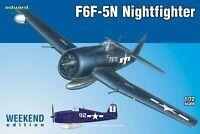 Eduard Weekend Edition 1:72 F6F-5N Nightfighter Aircraft Model Kit