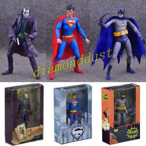 Joker Superman Batman 1966 Adam West Action Figure DC Comics Model Kid Toy Gift