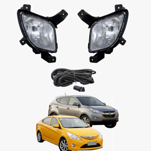 Fog Light Kit for Hyundai IX35 2010-2015 W/Wiring&Switch