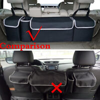 1Pc Capacity Oxford Car Seat Back Organizer For Interior Accessories 90x25x12cm