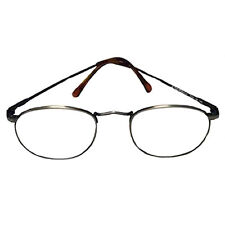 +4 Diopter Eschenbach Prism Reading Glasses, Eyewear - Pewter, Readers, Specs