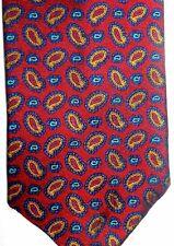 """Jos. A Bank Men's Silk Tie 58.5"""" X 4"""" Multi-Color Paisley"""