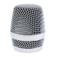 Microphone Head Mesh Microphone Grille for Wired Wireless Mic Replacements