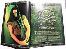 Type O Negative / Peter Steele 3 Page Magazine Article / Interview Complete +Dvd