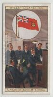 Union Of South Africa Flag Colonial Britain 80+ Y/O Ad Trade Card