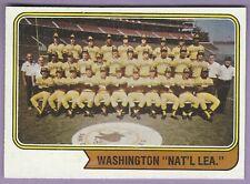 1974 Topps Washington Variations