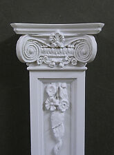 Pair Of Tall Ionic Wall Columns ~ Dollhouse ~ 1:12 scale ~ Room Box