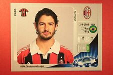 PANINI CHAMPIONS LEAGUE 2012/13 N 172 PATO MILAN BLACK BACK MINT!