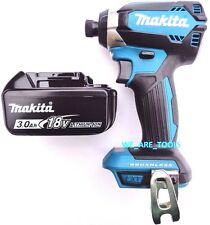 "New Makita Brushless 18V XDT13 1/4"" Impact Driver, (1) BL1830 Battery 18 Volt"