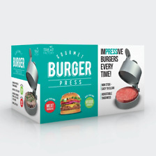 Treat Factory Gourmet Burger Hamburger Press Adjustable Thickness