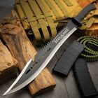 Devil Dogs Armed Forces Sawback Machete and Sheath - Survival and Clearing Brush