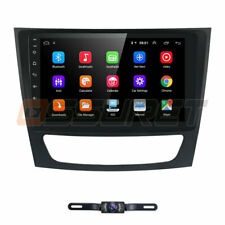 "Android 9.1 9"" Car GPS Stereo Radio WiFi fit Mercedes Benz W211 W219 E Class"