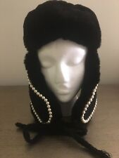 Chanel Fur (orylag) Hat size 56 (M) new with tags