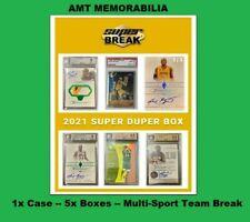 Z ALL OTHER SPORTS / CATEGORIES 2021 Break Super Duper 1X CASE 5X BOX BREAK #2