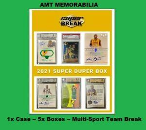 Z ALL ANY Soccer 2021 Super Break Super Duper 1X CASE 5X BOX BREAK #2