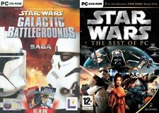 star wars best of ( 5 games) & galactic battlegrounds saga