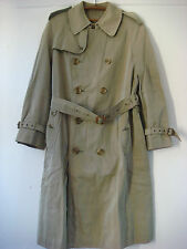 Original Vintage Anglais Grenfell deux tons trench coat cordings de Piccadilly