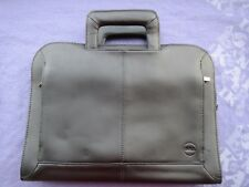 """Dell Executive Leather Carrying Case for 13"""" Laptops and Smaller"""